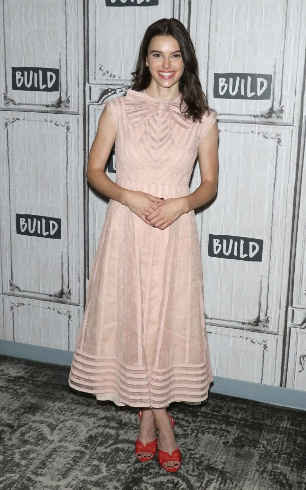 """Francesca Reale arrives Build Series to discuss """"Stranger Things"""" at Build Studio 2019/07/19 4"""