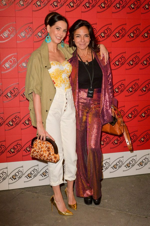 Frederique Bel and Sandra Zeitoun attend Tod's x Alber Elbaz Happy Moments Party in Paris 2019/07/02 4