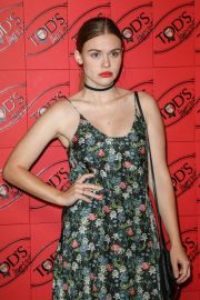 Holland Roden attends Tod's x Alber Elbaz Happy Moments Party in Paris 2019/07/02 2