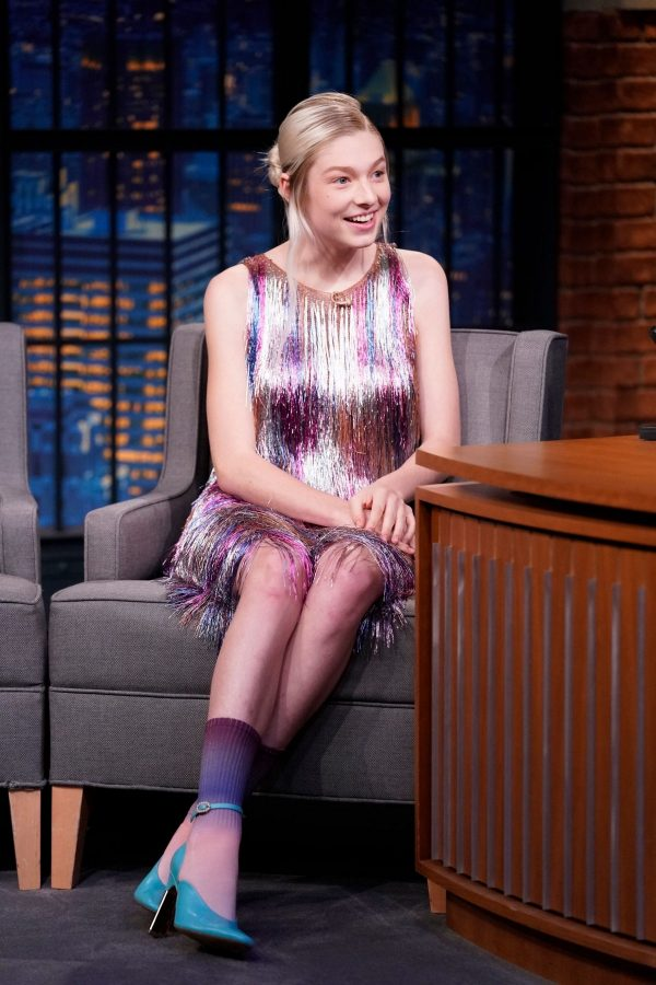 Hunter Schafer attends an interview on Late Night with Seth Meyers 2019/07/23 4