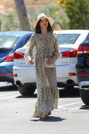 Jenna Dewan in Floral Dress Out in Beverly Hills 2019/07/01 8