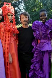 Kaia Gerber and Gigi Hadid at Haute Couture Fall/Winter of Paris Fashion Week 2019/07/03 3