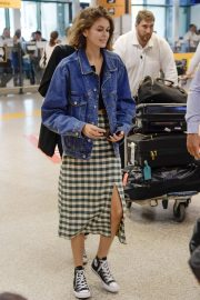 Kaia Gerber Arrives at Fiumicino Airport in Rome, Italy 2019/07/04 4