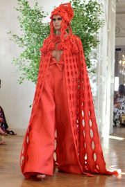 Kaia Gerber Runway During Haute Couture Fall/Winter Show of PFW in Paris 2019/07/03 6
