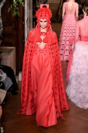 Kaia Gerber Runway During Haute Couture Fall/Winter Show of PFW in Paris 2019/07/03 14