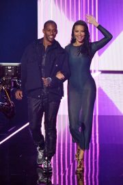 Adriana Lima and Victor Cruz 2019 MTV Video Music Awards at Prudential Center 2019/08/26 3