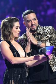 Alison Brie and French Montana at 2019 MTV Video Music Awards at Prudential Center 2019/08/26 4