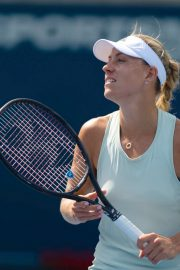Angelique Kerber during the Mubadala Silicon Valley Classic 2019 in San Jose 2019/08/03 1