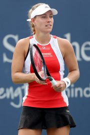 Angelique Kerber Plays Western & Southern Open at Lindner Family Tennis Center in Mason 2019/08/23 1