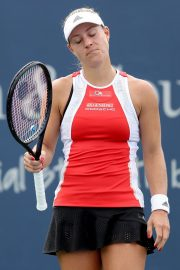 Angelique Kerber Plays Western & Southern Open at Lindner Family Tennis Center in Mason 2019/08/23 2