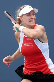 Angelique Kerber Plays Western & Southern Open at Lindner Family Tennis Center in Mason 2019/08/23 3