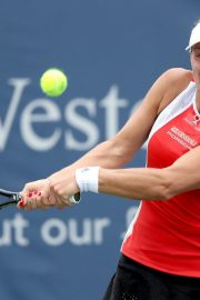 Angelique Kerber Plays Western & Southern Open at Lindner Family Tennis Center in Mason 2019/08/23 5