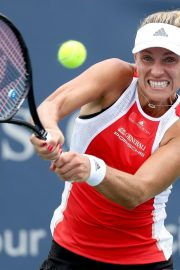 Angelique Kerber Plays Western & Southern Open at Lindner Family Tennis Center in Mason 2019/08/23 7