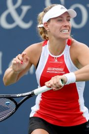 Angelique Kerber Plays Western & Southern Open at Lindner Family Tennis Center in Mason 2019/08/23 8