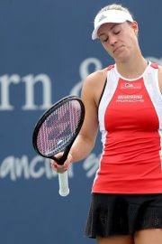 Angelique Kerber Plays Western & Southern Open at Lindner Family Tennis Center in Mason 2019/08/23 9