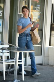 Ashley Greene in Light Blue T-Shirt and Blue Denim Out in Studio City 2019/08/08 6