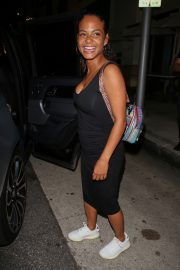 Christina Milian in Black Bodycon at Madeo Restaurant in Beverly Hills 2019/08/08 6