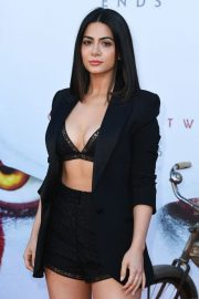 """Emeraude Toubia attends Warner Bros. """"It Chapter Two"""" Premiere at Regency Village Theatre in California 2019/08/26 1"""