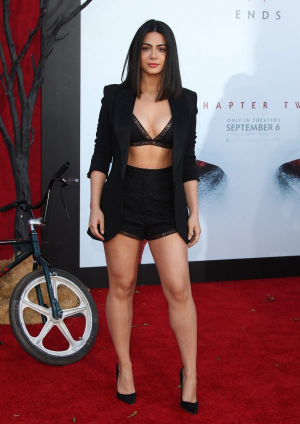 "Emeraude Toubia attends Warner Bros. ""It Chapter Two"" Premiere at Regency Village Theatre in California 2019/08/26 16"