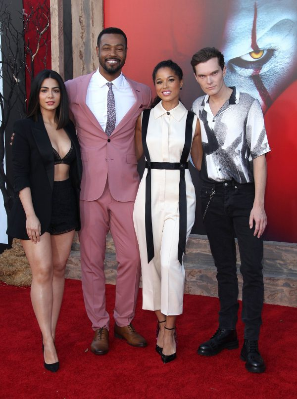 "Emeraude Toubia, Isaiah Mustafa, Alisha Wainwright & Luke Baines attends Warner Bros. ""It Chapter Two"" Premiere at Regency Village Theatre in California 2019/08/26 9"