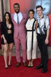 "Emeraude Toubia, Isaiah Mustafa, Alisha Wainwright & Luke Baines attends Warner Bros. ""It Chapter Two"" Premiere at Regency Village Theatre in California 2019/08/26 10"