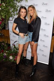 Emily Blackwell and Sophie Habboo attend Boux Avenue AW19 Launch Event in London 2019/08/29 2