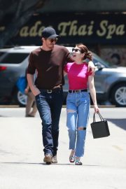 Emma Roberts and Garrett Hedlund Out in Los Feliz 2019/08/09 2