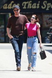 Emma Roberts and Garrett Hedlund Out in Los Feliz 2019/08/09 12