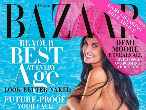 Actress Demi Moore poses nude for the cover of magazine, shares shocking things 1