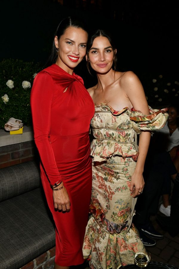 Adriana Lima and Lily Aldridge at Lily Aldridge Parfums Launch Party in New York City 2019/09/08 1