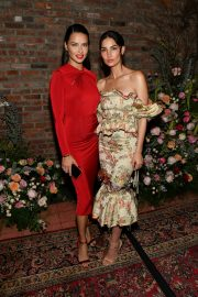 Adriana Lima and Lily Aldridge at Lily Aldridge Parfums Launch Party in New York City 2019/09/08 2