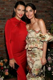 Adriana Lima and Lily Aldridge at Lily Aldridge Parfums Launch Party in New York City 2019/09/08 3