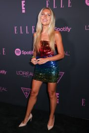 Alyssa Bossio attends E!, Elle, and Img New York Fashion Week Kick-off Party in New York 2019/09/04 2
