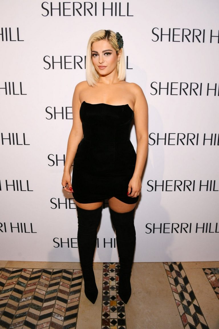 Bebe Rexha attends Sherri Hill Spring 2020 Fashion Show in New York 2019/09/06 1