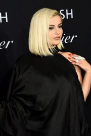 Bebe Rexha in Stylish Black Outfit at 2019 Harper's Bazaar ICONS in New York City 2019/09/06 2