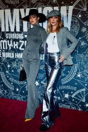 Bella and Gigi Hadid in Metallic Looks During Tommy Hilfiger Party in New York 2019/09/08 3