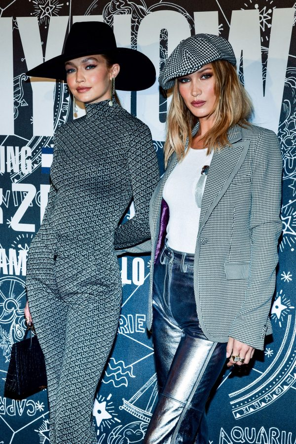 Bella and Gigi Hadid in Metallic Looks During Tommy Hilfiger Party in New York 2019/09/08 4