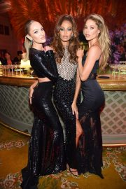Candice Swanepoel, Joan Smalls, and Doutzen Kroes at Harper's Bazaar Icons Party in New York 2019/09/06 4
