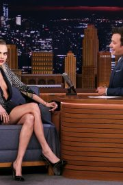 Cara Delevingne attends The Tonight Show with Jimmy Fallon 2019/09/03 1