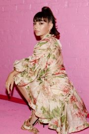 Charli XCX Latest Photoshoot at Pandora Street of Loves in Los Angeles 2019/08/28 2
