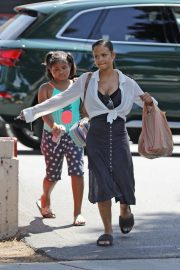 Christina Milian with Her Daughter Groceries Shopping Out in Los Angeles 2019/09/02 2