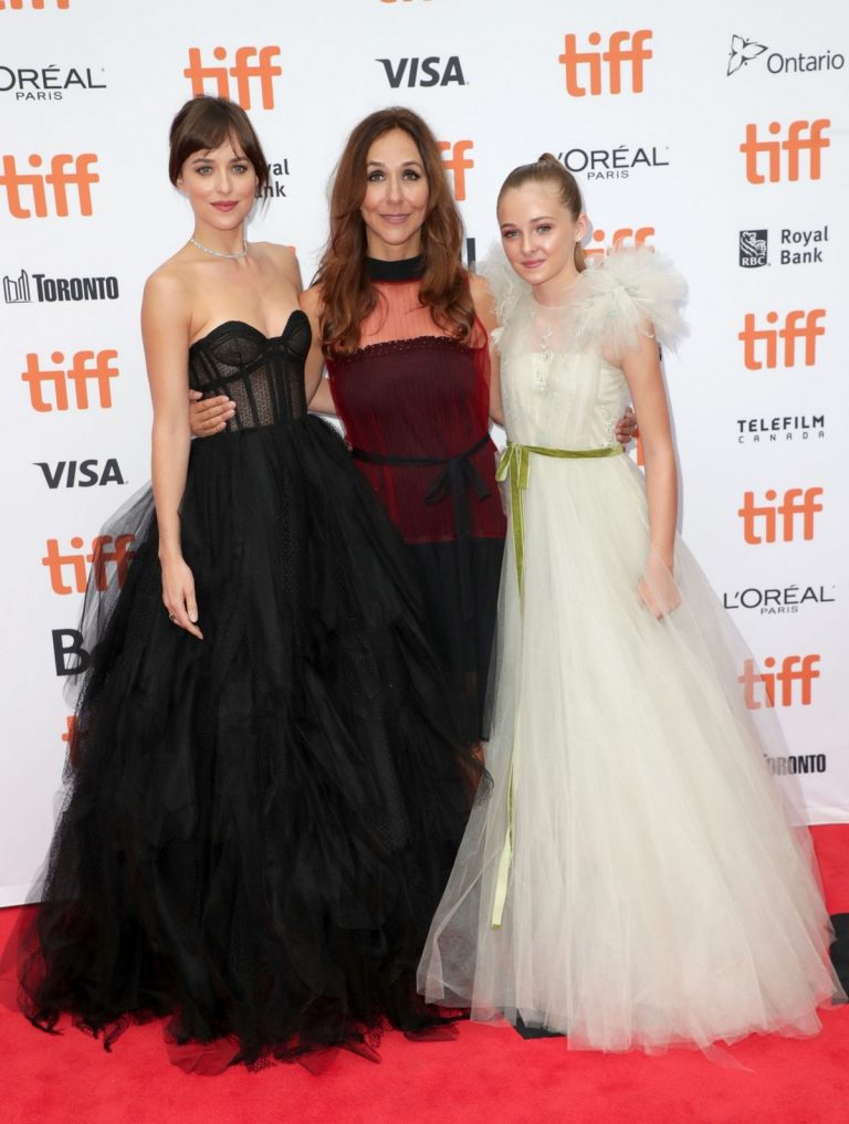 "Dakota Johnson, Isabella Kai and Gabriela Cowperthwaite at ""The Friend"" Premiere at 2019 TIFF in Toronto 2019/09/06 7"