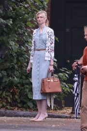 "Elizabeth Debicki on the set of ""Tenet"" Thriller/Action Movie in North London 2019/08/28 1"