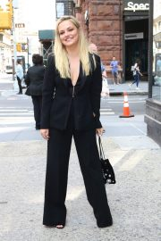 Emily Meade in Black Pantsuits at Build Series The Deuce in New York 2019/09/09 3
