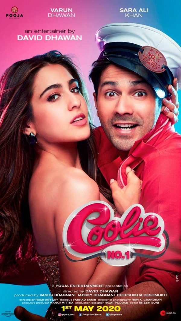 First Look: Coolie No. 1 | Sara Ali Khan and Varun Dhawan | 1st May 2020 1