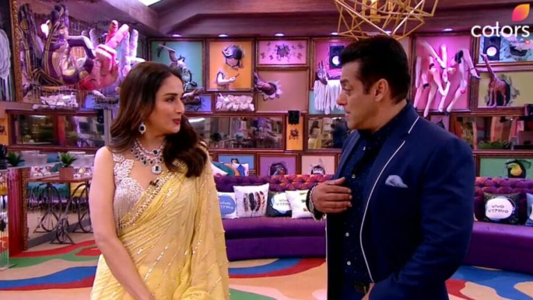 Madhuri Dixit and Salman Khan dance in Bigg Boss 13 house, will remember old days 1