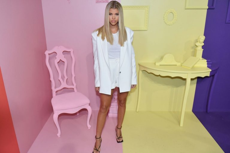 Sofia Richie accused of copying Kourtney Kardashian's style 1