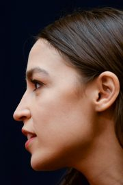 Alexandria Ocasio-Cortez at House Financial Services Committee Hearing in Washington 2019/10/23 3