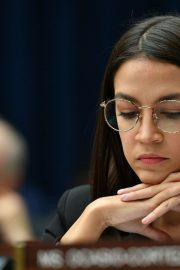 Alexandria Ocasio-Cortez at House Financial Services Committee Hearing in Washington 2019/10/23 4
