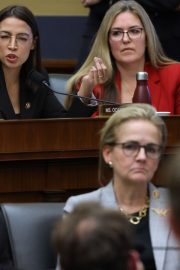 Alexandria Ocasio-Cortez at House Financial Services Committee Hearing in Washington 2019/10/23 10